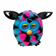 Furby Boom Interactive Toy Pet Hasbro 2012 Black Blue Pink Robotic Friend Tested