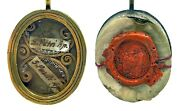 St Peter And St Paul 1793 Vatican First Class Theca Relic - Ex Ossibius