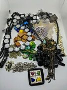 Junk Drawer Jewelry Lot Pounds Costume Craft Repair Wearable 1.5 Pounds