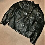 The Real Mccoyand039s Buco Horsehide Leather Riders Jacket Menand039s 42 Size From Japan