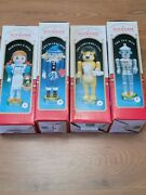 Vintage Wizard Of Oz Nutcracker Edition Collection 14 Complete Set New Open...
