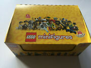 Lego Collectable Minifigures Series 1 8683 Case Box W 16 Unopened Rare Minifigs