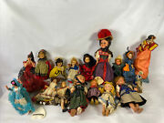17 Vintage Mixed Lot Of Madame Alexander Dolls And Other Unnamed Very Old Dolls