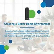 Ultrasonic Cool Mist Humidifier For Medium Rooms Quiet Filter Free Black Color