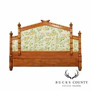 Victorian Style Vintage Custom Quality Faux Bamboo King Headboard