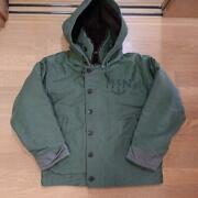 French Army Deck Jacket Hood Included Dead Stock Real