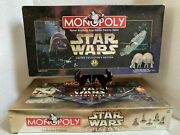 Star Wars Monopoly 2 Board Games-le And 3d Episode 1 Is Nib Both 100 Complete