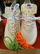 2018 Off White X Nike Air Vapormax Flyknit The Ten Aa3831 100 Menand039s Size 11