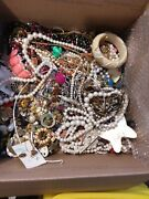 Huge Vintage Junk Drawer Estate Find Jewelry Lot Unsearched 20lbs+ Lot Cc