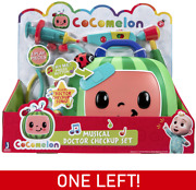 New Cocomelon Musical Doctor Check Up Set Jj Dr Bag 4 Play Set Talking Sing