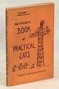 T S Eliot / Old Possumand039s Book Of Practical Cats 1st Edition 1939