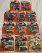Matchbox Around The World 3 Toy Car Sets Lot Of 11. Please See Description
