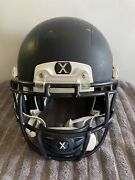 Xenith X2e Blue Adult M Varsity Football Helmet With Chin Strap Free Shipping🏈