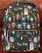 Dooney And Bourke Disney Haunted Mansion Large Backpack D Nwt Exact Item