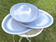 Vintage Texas Ware Large Serving Bowl And Platters Melmac Melamine Cookouts