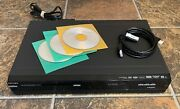 Philips Dvdr3576h/37 Dvd Hdd 160gb Recorder W/ Dvd-rand039s And Hdmi Cable No Remote