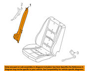 Mercury Ford Oem 08-09 Sable Front Seat Belt-assy Right 8g1z54611b08ae