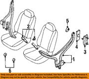 Mercury Ford Oem Front Seat-belt And Buckle Retractor Right 1f5z12611b08aaa