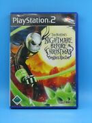 The Nightmare Before Christmas Oogie's Revenge Sony Playstation 2 Ps2 - German