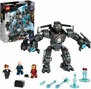 Lego 76190 Marvel Ironman Figures Of Action Of Superheroes Chaos Of Iron Monger