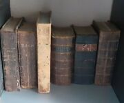 Lot Of Six Early 19th C.swedish Martin Luther And Other Bible Books