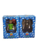 【2 Set】medicom Toy Andy Sid Scud Toy Story Vcd Vinyl Collectible Doll Disney Fig