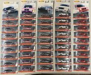 Lot Of 45 Metal Real Riders Hot Wheels All Sealed 5 Out Of 5 Collection