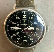 Bell And Ross Ww1-92 Military 45mm Brww192-mil/sca Stainless With Black Dial Watch