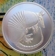 1 Oz. Donand039t Mess With Texas Armadillo Bu Rounds .999 Fine Silver