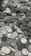 1930s Mostly 35 36 37 90 Full Horn Buffalo Nickel Lot Of ☆100+☆ Coins Vf-xf
