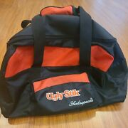 Ugly Stik Shakespeare Red Black Carry Tackle Bag