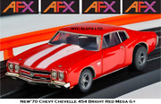 New Afx And03970 Chevy Chevelle 454 Mega G+ Fits Auto World Ho Slot Car Afx 22043