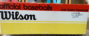 Case Of 12 Vintage Wilson Official Pony League Baseballs A1076 New In Box