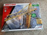 Meccano / Erector Tower Crane 3 Ft Tall Motorized With Remote Control 15308