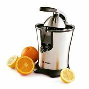 Electric Orange Juicer Squeezer Stainless Steel 160 Watts Of Power Soft Grip