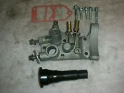 Corvair Alternator Mounting Bracket New Gasket And Bolts Oil Filter Cut Off
