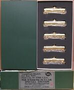Southwind Models Up/atandsf/sp/wp/swse 50' Tank Car 5-pack Brass S-scale Nos
