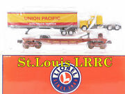 Lionel 6-52258 Lrrc 2002 St. Louis Union Pacific Flatcar W/tractor And Trailer New
