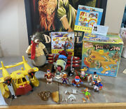 Vintage Playmates Huge Lot Disney's Tale Spin Baloo Sea Duck Accessories More