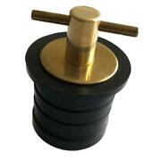 Snap-tite Boat Bailer Plug For 32mm 1-1/4 Inch Diameter Hole With Waterproof