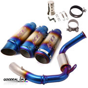Exhaust System Silencer Slip Front Mid Pipe Modified For Duke 125 250 390 Rc390