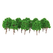 Lots 20 1150 Scale Model Trees Miniatures For Train Street Scenery Layout