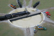 Walthers-motorized 130' Turntable -- Assembled - 10-3/8 26.3cm Overall Diameter