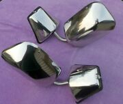 1973-87 Chevy/ Gmc Truck/ Suburban Stainless Steel Side View Mirrors Oem