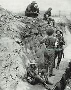 Wwi Messines Ridge Soldiers Trench 3rd Australian Division 1917 Photo Article