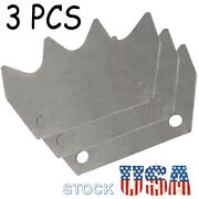 3pcs Manure Spreader Upper Paddle Fit For New Holland 145, 185, 195, 520