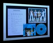 Abba Voulez-vous Ltd Gallery Quality Framed Music Cd Display+express Global Ship
