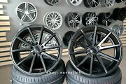 New 20 Inch 5x112 Haxer Hx014 Vfs 1 Style Concave Black Wheels For Bmw Mercedes