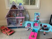 Lol Surprise Doll Chalet, Glamper Camper And Carcuzzi