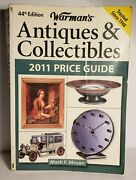 2011 Warmans Antiques And Collectibles Price Guide Paperback